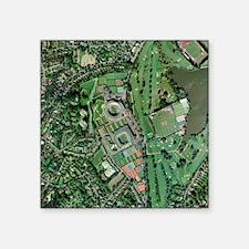 Wimbledon tennis complex, UK - Square Sticker 3