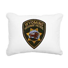 Wyoming HP patch Rectangular Canvas Pillow