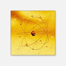 Atomic structure, artwork - Square Sticker 3