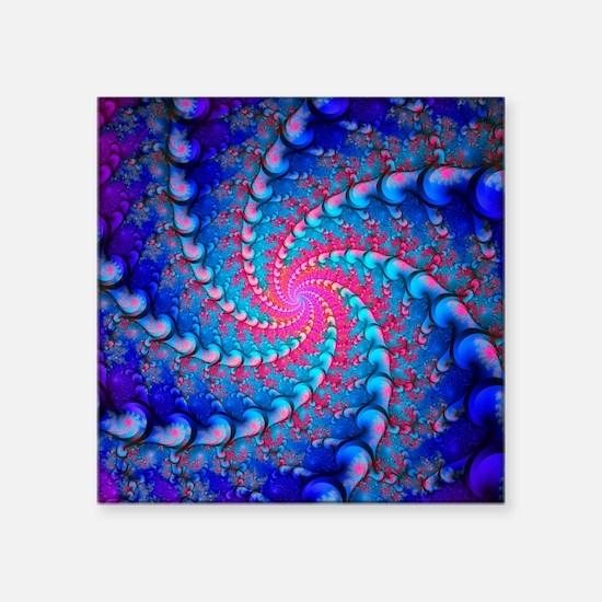 Julia fractal - Square Sticker 3
