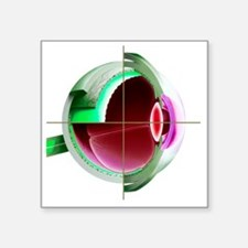 Human eye - Square Sticker 3