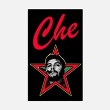 Che Star Rectangle Decal