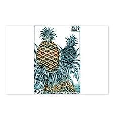 Vintage 1962 Cambodia Pineapples Postage Stamp Pos