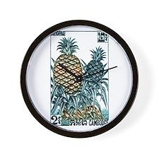Vintage 1962 Cambodia Pineapples Postage Stamp Wal