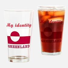 My Identity Greenland Drinking Glass