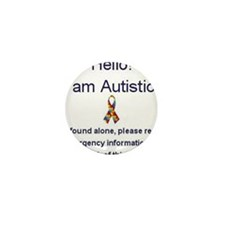 Cute Autism Mini Button (10 pack)
