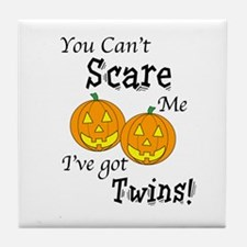 Can't Scare - Halloween Tile Coaster