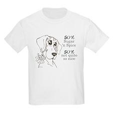 Flower pup 50% Kids T-Shirt