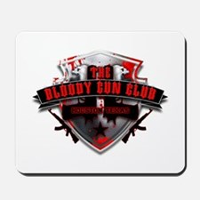 Bloody Gun Club Logo Mousepad