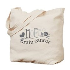 Hope For Brain Cancer Tote Bag