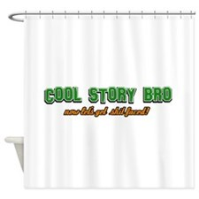 Funny Clover T shirts Shower Curtain