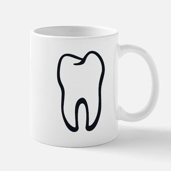 Tooth / Zahn / Dent / Diente / Dente / Tand Mug