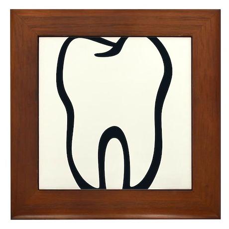 Tooth / Zahn / Dent / Diente / Dente / Tand Framed