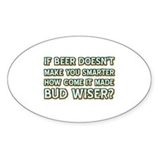 Funny Beer Designs Decal