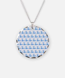 Pattern of Blue Whales. Necklace