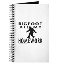 BIGFOOT ATE MY HOMEWORK Journal
