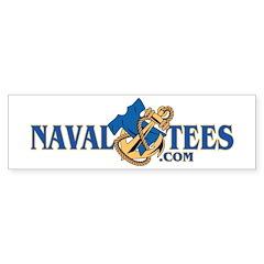 NavalTees Logo Bumper Bumper Sticker