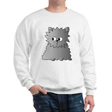 Long Haired Gray Cat. Sweatshirt