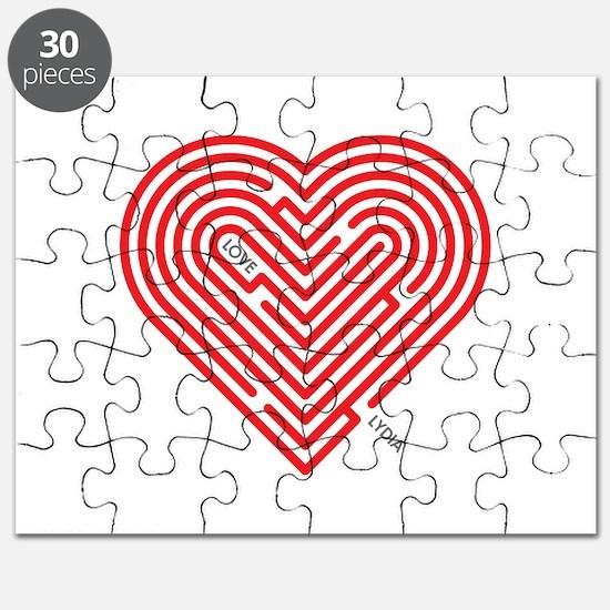 I Love Lydia Puzzle
