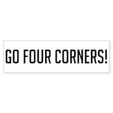 Go Four Corners Bumper Bumper Sticker