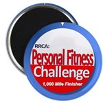 1000 Mile Personal Fitness Magnet