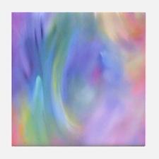 Rainbow Angel Tile Coaster