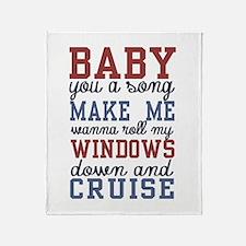 Cruise Throw Blanket