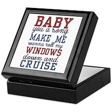 Cruise Keepsake Box
