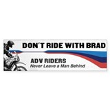 Dont ride with brad 10 Pack