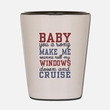 Cruise Shot Glass