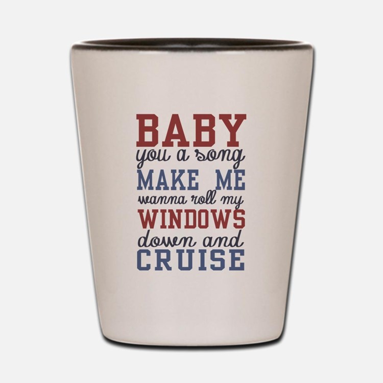 Cruise Shot Glass