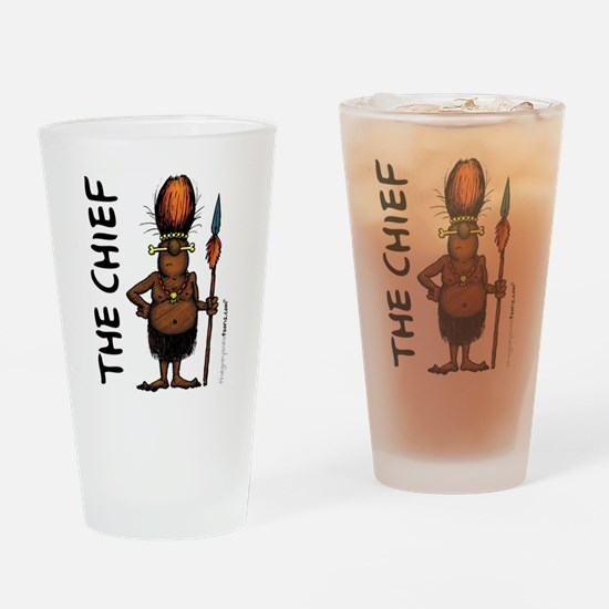 Cute Chief Drinking Glass