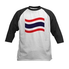 Thai Flag Wave Baseball Jersey