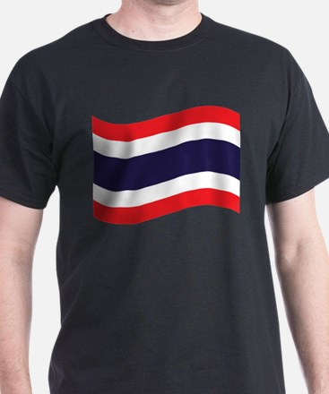 Thai Flag Wave T-Shirt