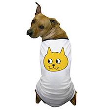 Yellow Cartoon Cat. Dog T-Shirt