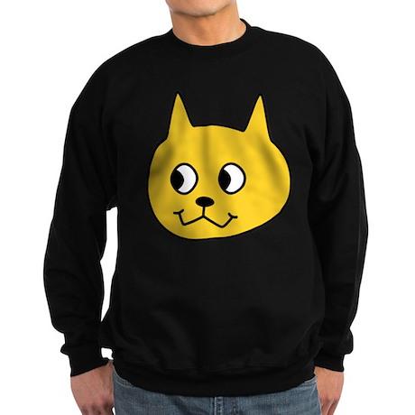 Yellow Cartoon Cat. Sweatshirt