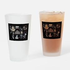Phantom Phantasia Collage Drinking Glass