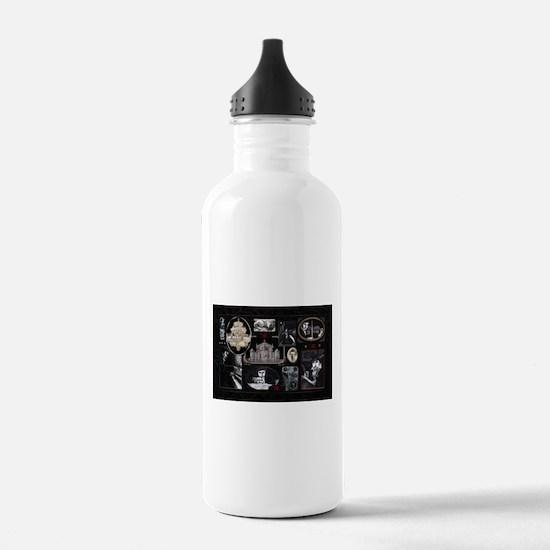 Phantom Phantasia Collage Water Bottle