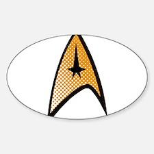 Star Trek Uniform Command Insignia halftone Sticke