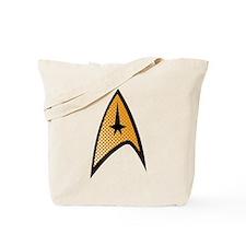 Star Trek Uniform Command Insignia halftone Tote B