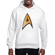 Star Trek Uniform Command Insignia halftone Hoodie