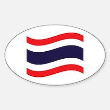 Thai Flag Wave Decal
