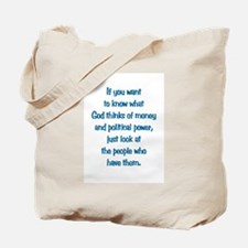 Money & Power Tote Bag