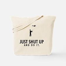 RC Airplane Tote Bag