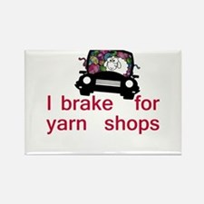 Brake for yarn shops Rectangle Magnet