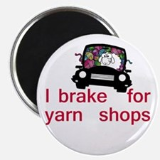 Brake for yarn shops Magnet