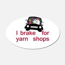 Brake for yarn shops Wall Decal