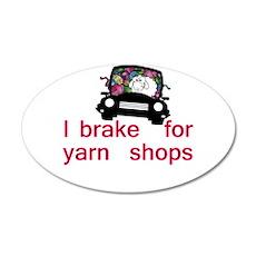 Brake for yarn shops Wall Decal