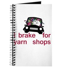 Brake for yarn shops Journal