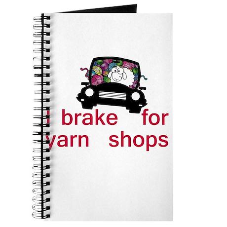 Brake for yarn shops Journal